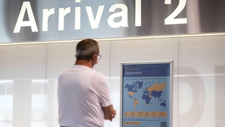 Das Warten auf die Liebste hat ein Ende: Ab Montag dürfen auch Lebenspartner aus Drittstaaten wieder in die Schweiz reisen.