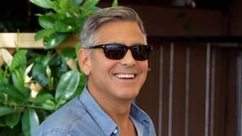 George Clooney am Morgen nach der Feier