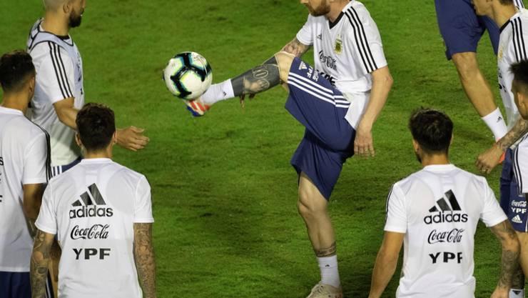 Steht bei Argentinien im Zentrum: Superstar Lionel Messi will endlich auch einen Titel mit dem Nationalteam gewinnen