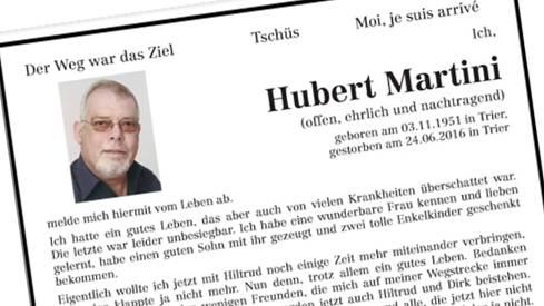 Todesanzeigen Kötztinger Zeitung