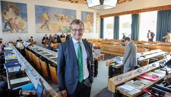 Dissident: Baselland könne sich die Steuerausfälle wegen der Steuerreform leisten, sagt Klaus Kirchmayr, Fraktionschef der Grünen im Landrat.