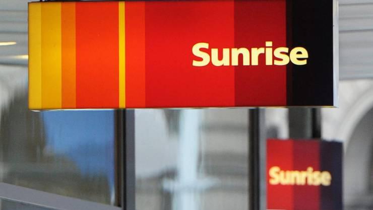 Sunrise-Schild an einem Shop (Archivbild).