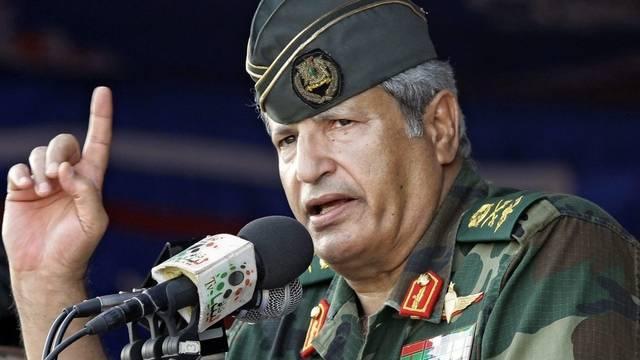 Die einstige Nummer zwei Gaddafis, Abdel Fatah Junis
