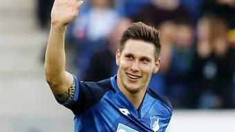 Niklas Süle jubelt nach seinem Siegtreffer gegen Hertha Berlin