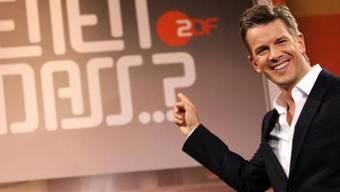 Andere Gäste gewünscht: TV-Moderator Markus Lanz.