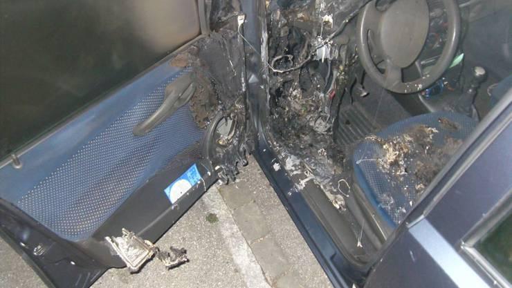 Am Auto entstand Sachschaden in noch unbekannter Höhe.