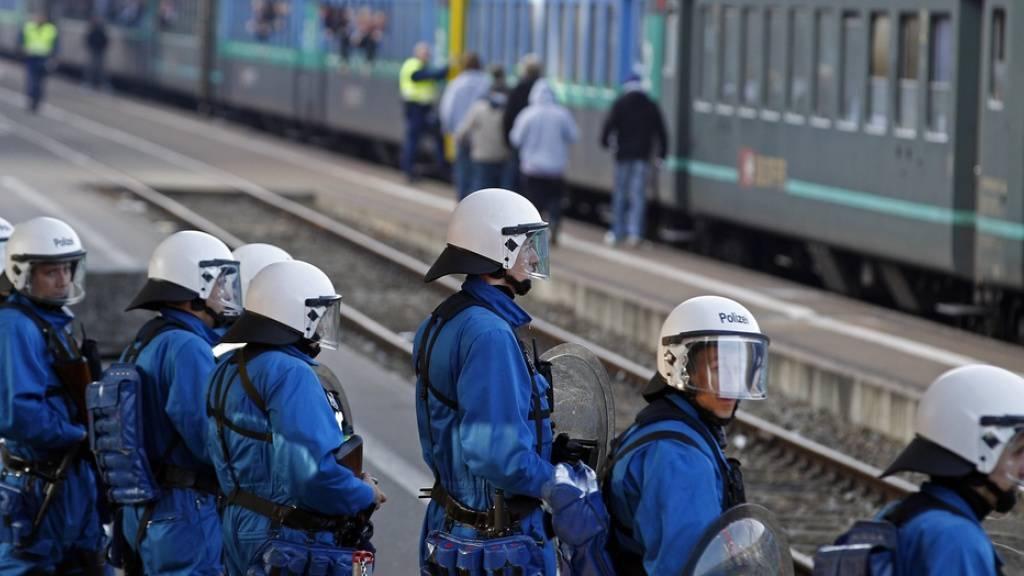 Bedingte Geldstrafen für mutmassliche FCZ-Fans nach Angriff auf Zug
