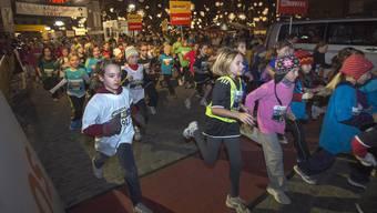 Ein Massenanlass braucht auch eine aufwendige Organisation: Der Stadtlauf lockt alljährlich zwischen 8000 und 9000 Läufer jeden Alters in die Stadt.