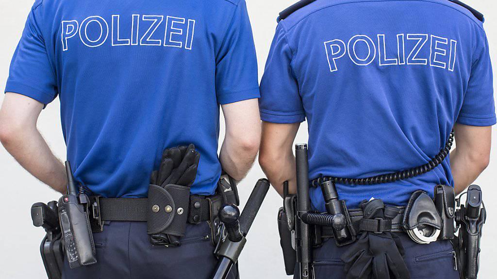 Die Zahl der Polizeistellen in der Schweiz wächst stetig, seit 2013 um mehr als 1000. (Symbolbild)