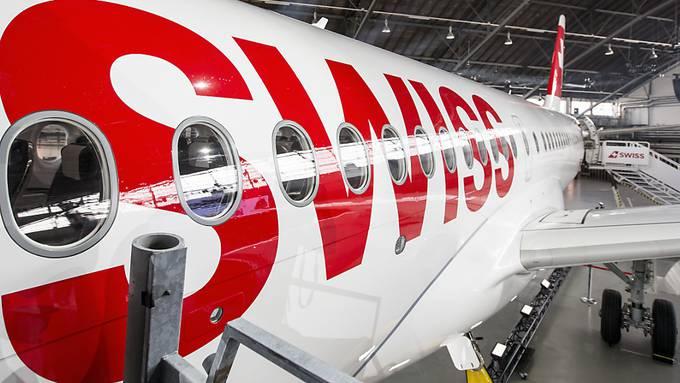 Die Swiss legt ihre Europamaschinen vom Typ C-Series vorübergehend still. Die Maschinen müssen wegen Triebwerksproblemen einer umfassenden Inspektion unterzogen werden. Dies führt zu zahlreichen Flugausfällen. (Archiv)