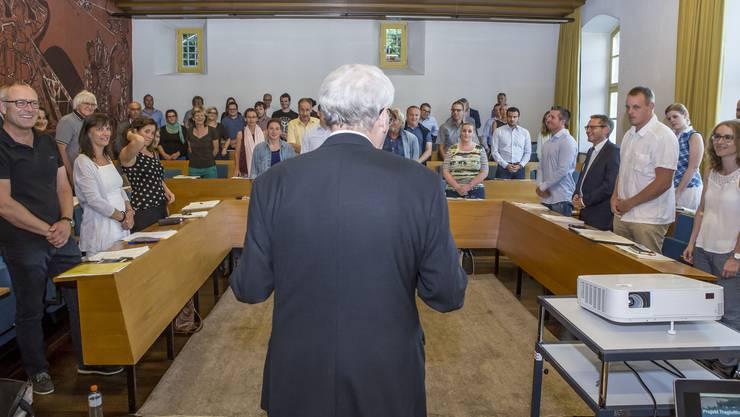 Nächstes Jahr wird nicht nur der Gemeinderat von Solothurn sondern auch dessen Leitung anders aussehen.