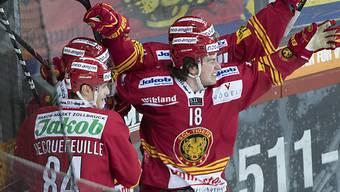 Die Tigers feiern Sieg über La Chaux-de-Fonds