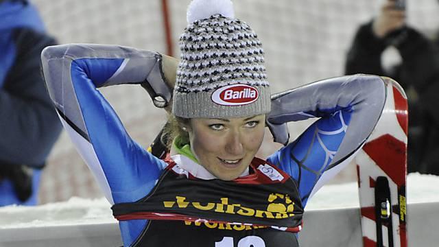 Top-Leistung von Mikaela Shiffrin im 1. Lauf in Zagreb