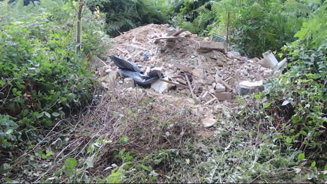 Bauschutt-Umweltsünder geschnappt