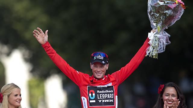 Vuelta-Sieger Horner ist der Doping-Kontrolle unbewusst ausgewichen