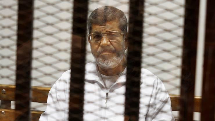 Mohammed Mursi wurde der Spionage schuldig gesprochen.
