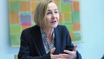 Das Engagement für den sozialen Ausgleich sei wichtig, sagt Regierungsratskandidatin Susanne Schaffner. Aber: «Ich bin keine Sozialromantikerin.