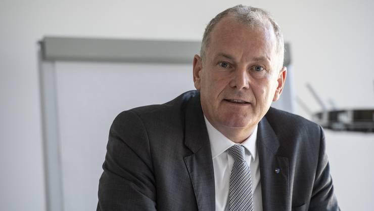 Energiedirektor Stephan Attiger äussert sich zum neuen aargauischen Energiegesetz.