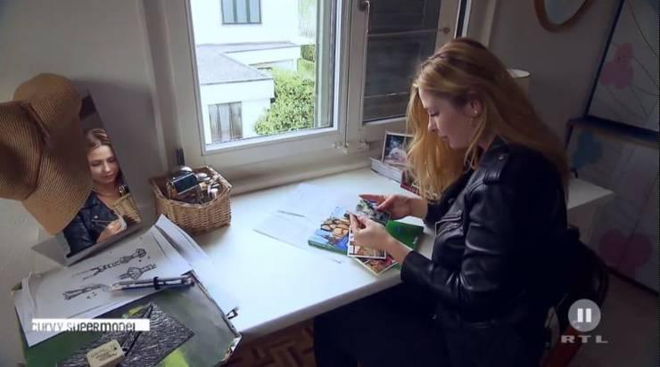 Vor ihrem Casting-Auftritt besucht der TV-Sender Vera bei sich zu Hause.