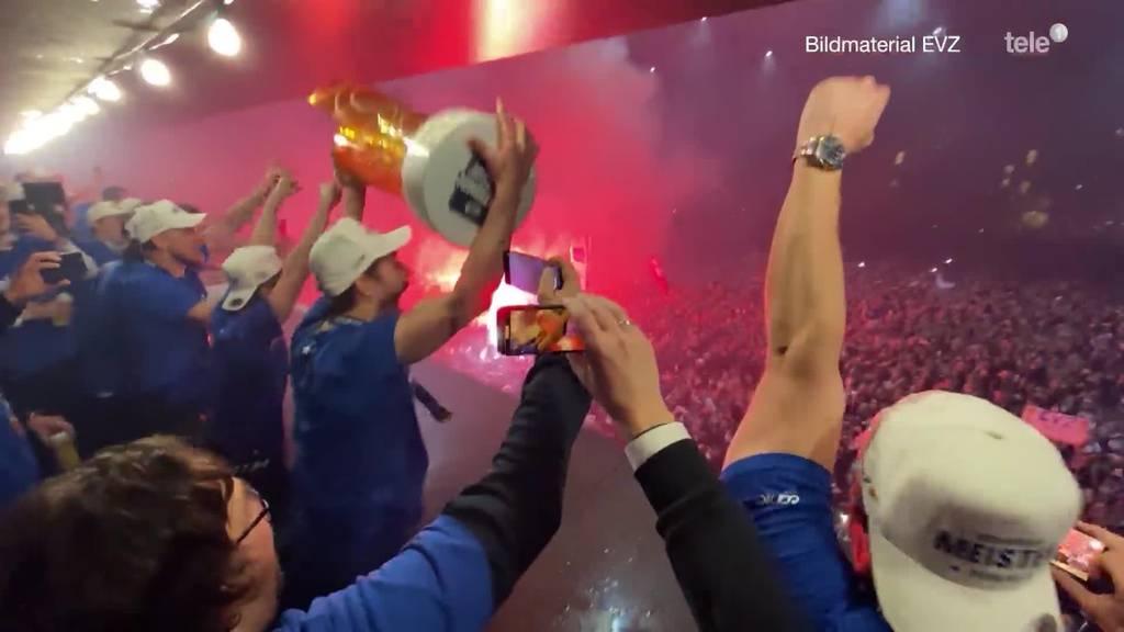 EVZ ist Schweizer Eishockey-Meister