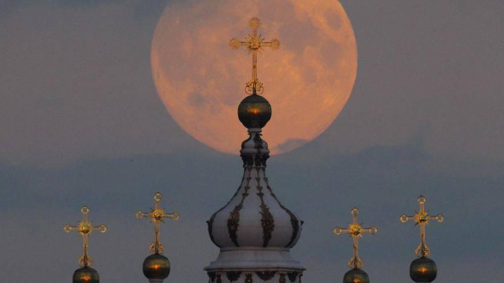 Russland will nächstes Jahr zum Mond. (Symbolbild)
