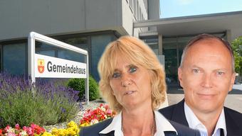 Gehen in Zukunft getrennte Wege: Ammann Susanne Voser und Gemeinderat Andreas Muff demissionieren aus dem Gemeinderat.
