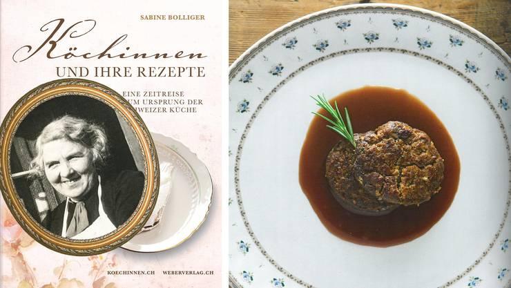 Sie schuf ein praktisches Kochbuch mit 200 Rezepten. Es wurde ein Verkaufserfolg. Unter anderen mit einem Rezept für feine Hacktätschli