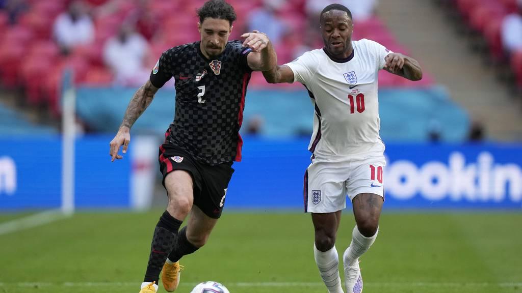 EM-Favorit England gewinnt gegen Kroatien 1:0