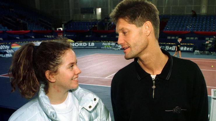 Patty Schnyder und ihr Wunderheiler Rainer Harnecker.