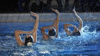 Dürfen sich über den dritten Platz am Red-Fish-Cup freuen: Die Synchronschwimmerinnen des Schwimmclubs Solothurn.