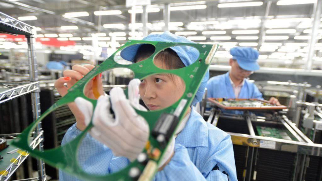 Steigende Lohnkosten machen der chinesischen Industrie Probleme (Symbolbild).