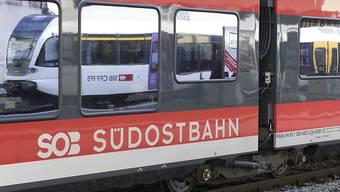Um drohende Engpässe beim Rollmaterial zu vermeiden, haben die SBB bei der Südostbahn zwei Zugskompositionen bestellt. (Archivbild)