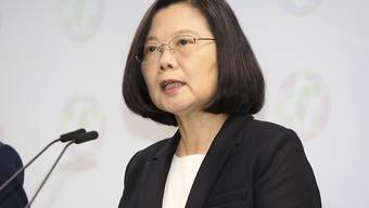 Wahlschlappe: Taiwans Präsidentin Tsai Ing-Wen ist deutlich auf Distanz zu China gegangen - die Einschüchterungspolitik Pekings scheint daher viele Wähler zu beunruhigen.