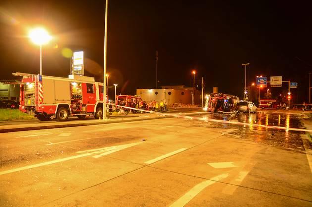 Zum Unfall kam es bei der Kreuzung Kohlgraben in Rheinfelden.
