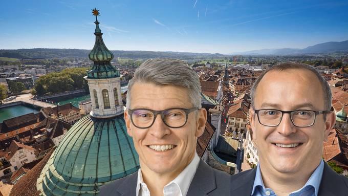 Das Zweierticket der FDP: Markus Schüpbach und Marco Lupi.