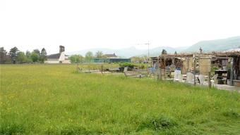 Das Bauland im Hinterfeld in Rohr gehört grösstenteils der Stadt und den Ortsbürgern. Sabine Kuster/Archiv