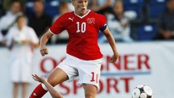 Captain Lara Dickenmann traf in Wohlen mittels Foulpenalty zum 2:0-Endresultat.