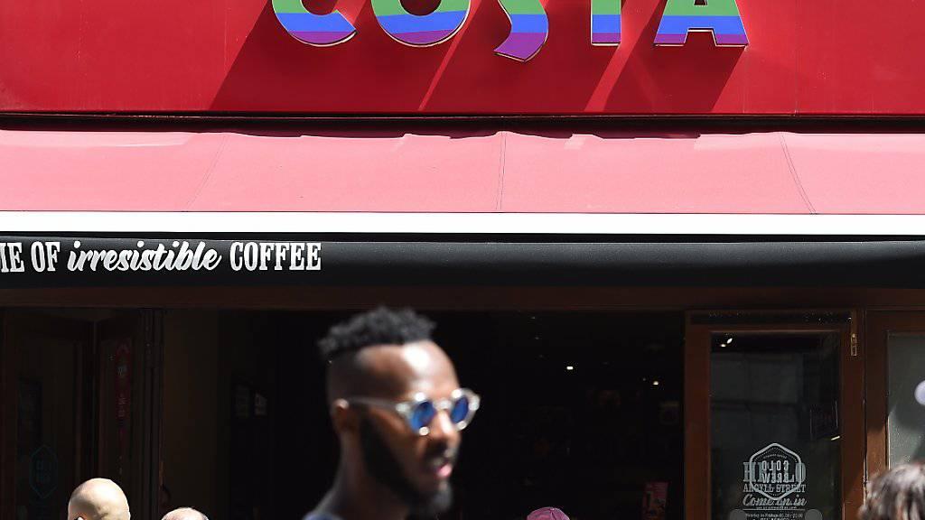 Coca Cola schnappt sich für umgerechnet 5 Milliarden Franken die britische Kaffeemarke Costa. (Archiv)