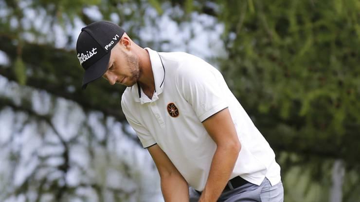 Marco Iten muss in den nächsten Wochen sein bestes Golf zeigen