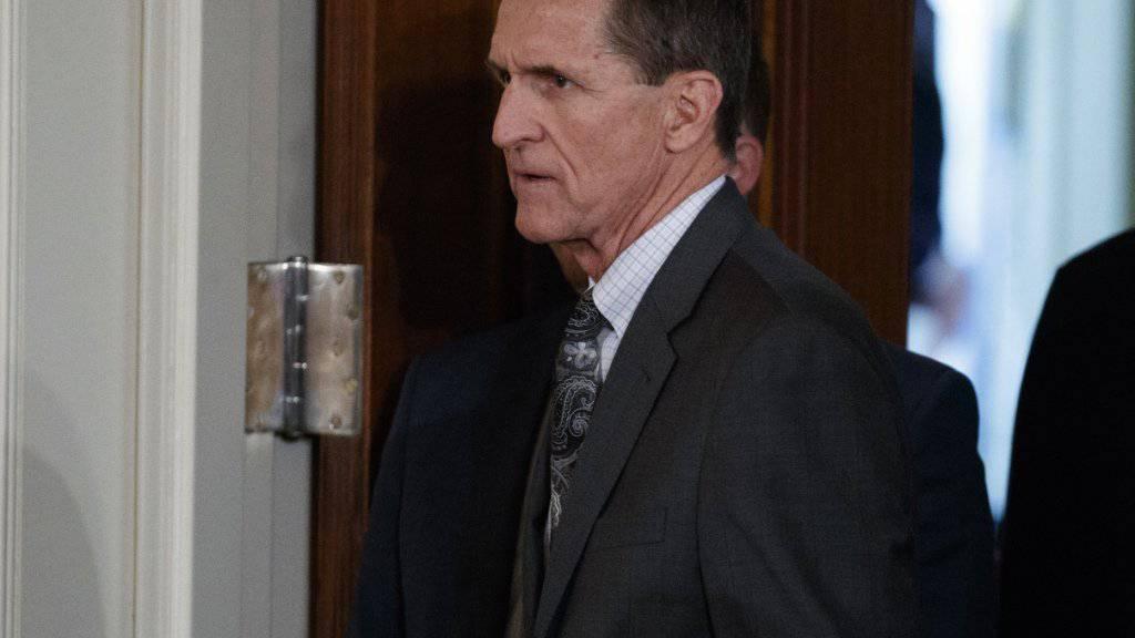 Donald Trumps Ex-Sicherheitsberater Michael Flynn soll einem US-Senatsausschuss Dokumente zu einer möglichen russischen Einmischung in den Wahlkampf liefern. (Archivbild)