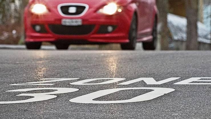 «Tempo 30 war und ist Bestandteil der städtischen Verkehrsplanung», schrieb der Stadtrat.