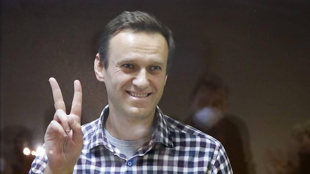 Lebenszeichen von Kremlgegner Nawalny: «Grüsse aus dem Gefängnis»