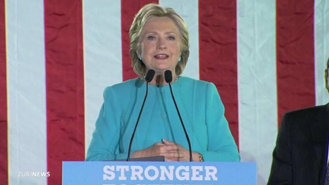 Hat Hillary nun den Sieg auf sicher?
