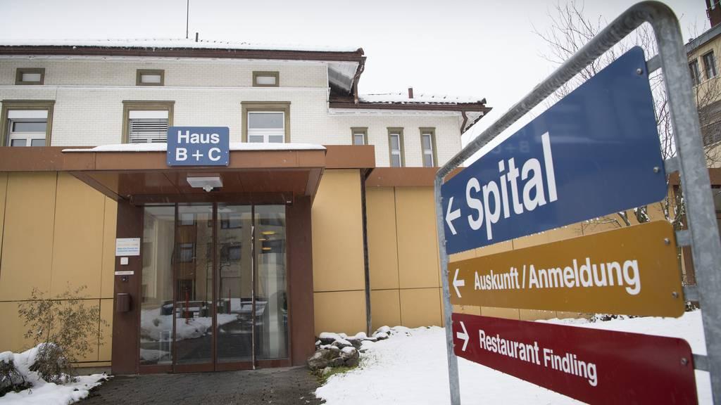 Das jetzige Spital in Appenzell.