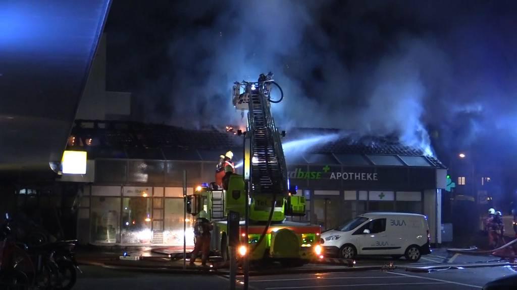 Brand in Apotheke verursacht grossen Sachschaden