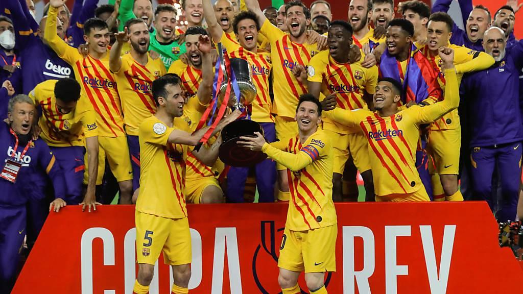 Erster Titel für Messi und Co. in dieser Saison