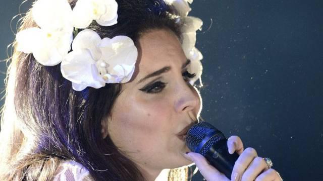 Lana Del Rey letztes Jahr am Montreux Jazz Festival (Archiv)