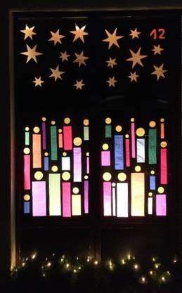 Das Fenster zum 12. Advent