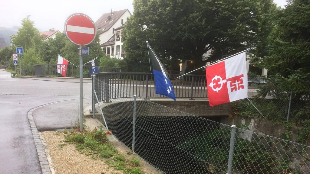Schweizer Fahnen erneut gestohlen