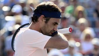 Nachdenklicher Federer: Im Final des Turniers in Montreal war er gegen Alexander Zverev chancenlos